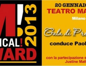 MUSICAL! AWARD 2013: SOLD OUT!