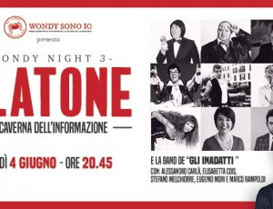 Teatro Manzoni / Wondy Night 3: Platone  La Caverna Dell'informazione